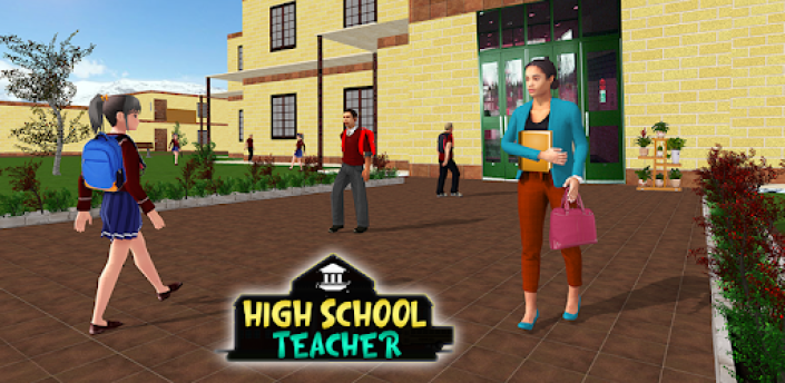 School Teacher Simulator: Virtual School Life Game apk