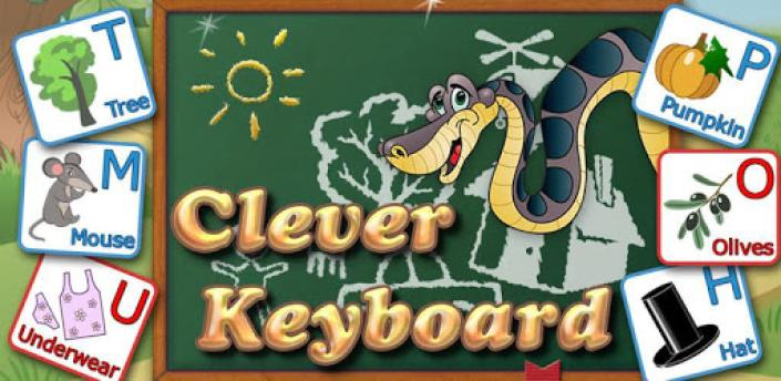 Clever Keyboard: ABC Learning apk