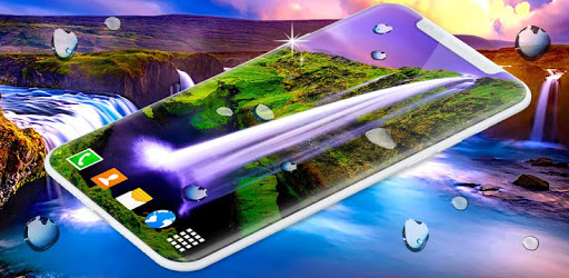 Waterfall Live Wallpaper 💧 Water 4K Wallpapers apk