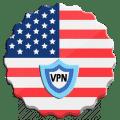 USA VPN - Free VPN & Fast Security Proxy Icon