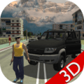 Real City Russian Car Driver 3D Icon