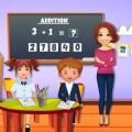 Kindergarten High School Game: Classroom Fun Icon