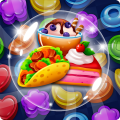 Food POP : New puzzle gravity world(Food burst 2) Icon