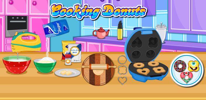 Cooking Donuts apk