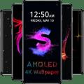 AMOLED Wallpapers 4K - Black & Dark Background Icon