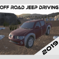 Off Road Jeep Driving Icon
