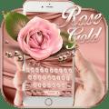 Rose Gold Emoji Keyboard Icon
