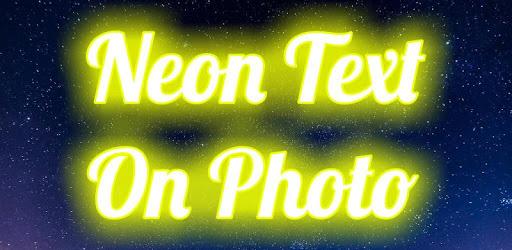 Neon Text On Photo apk