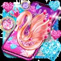 Diamond swan live wallpaper Icon