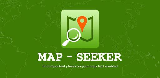 Map Seeker - Seeks locations apk