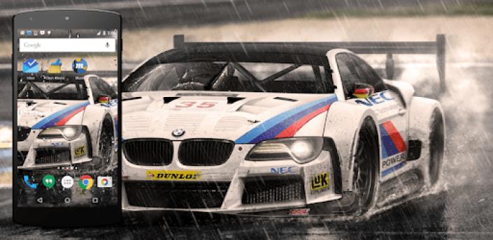 Racing Car Live Wallpaper apk