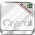 Next Launcher Theme Crystal 3D Icon