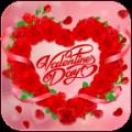 Valentine Love Rose Heart Theme Icon