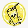 Happy Glass Lemonade Drawing Icon