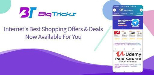 Bigtricks - Cashback Offers Loot Deals & Coupons apk
