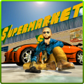 Supermarket Gangster Crime Run Icon