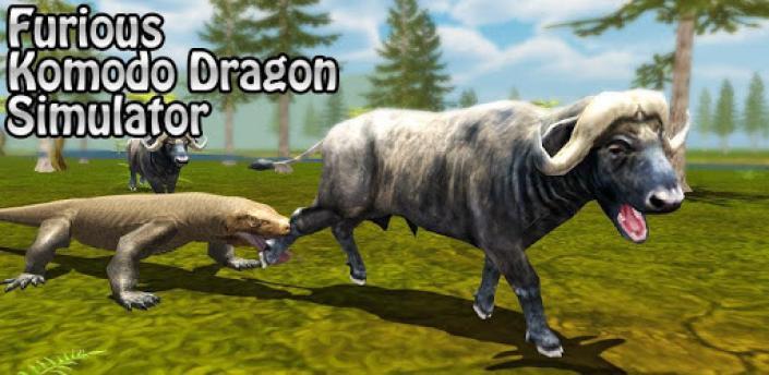Furious Komodo Dragon Simulator apk