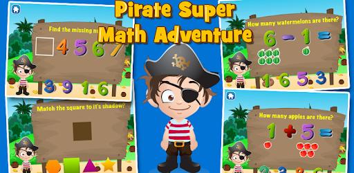 Preschool Math: Pirate Kid apk