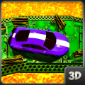 Impossible Volcano car Parking:Lava Driving 3D Icon