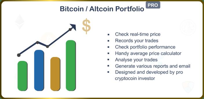 Bitcoin Portfolio & Altcoin Portfolio apk