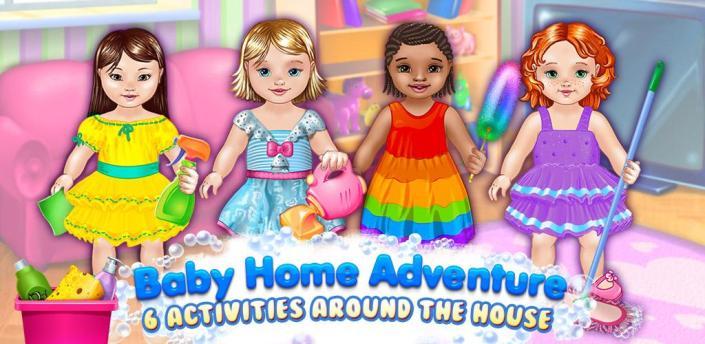 Baby Home Adventure Kids' Game apk