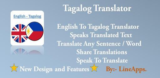 Tagalog Translator apk