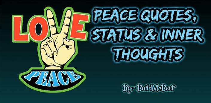 Peace Quotes in English - Inner Thoughts & Status apk