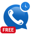 Free Call & SMS Scheduler Icon