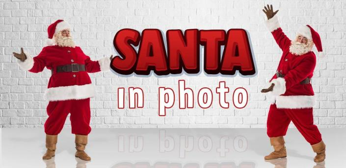 Santa In Photo – Christmas Stickers For Pictures apk