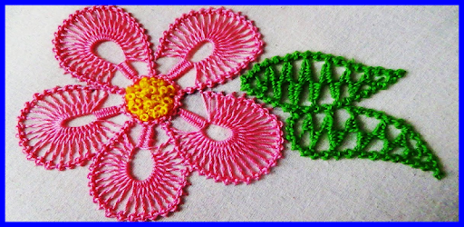 Learn to embroider by hand step by step apk