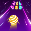 Dancing Ball Color - Road Run Game Icon