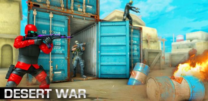 Desert Shooting War - Free Games 2021 apk