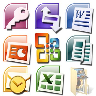 Word Excel Powerpoint PDF Reader Icon