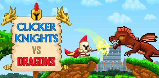 Clicker Knights Vs dragons apk