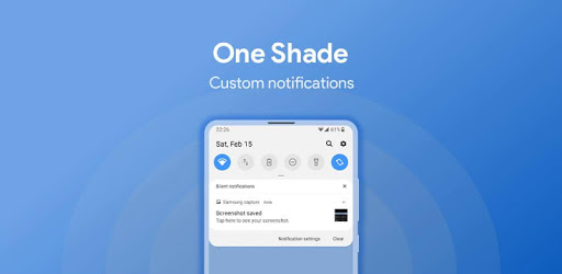 One Shade: Custom Notifications and Quick Settings apk