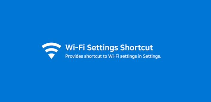 WiFi Settings Shortcut apk