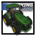City Tractor Car Parking Icon