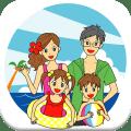 Kids&Parents Travel&Rest Icon