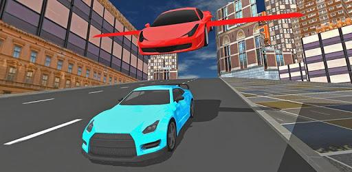 Futuristic Real Flying Car 3D apk