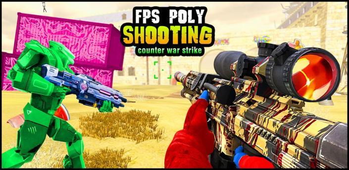 Fps Poly Shooting Games - Counter War Strike Game apk