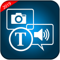 Image to Text and Text to Speech - Text Scanner Icon