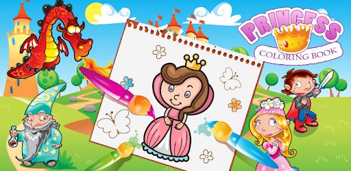Princess Colouring Book 👰 apk