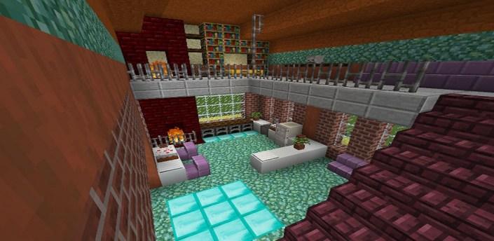 Customizable Command Block House for Minecraft apk