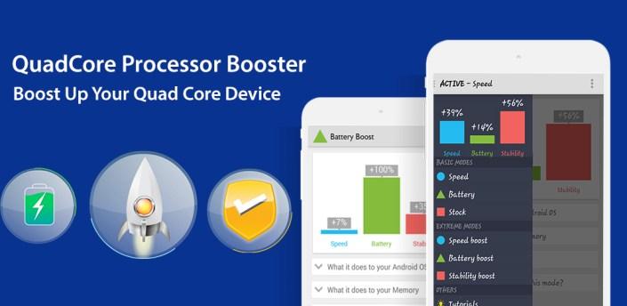 Quad Core Processor Booster Max apk