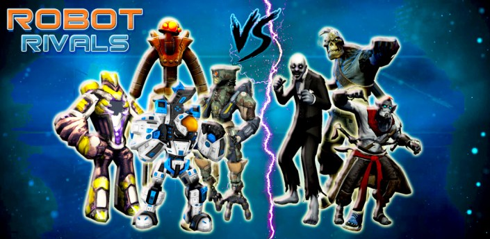Robot Rivals Legend: The Fighting Game apk