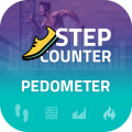 Pedometer & Step Counter :- The Fitness App Icon