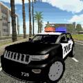 Police Car Drift Icon