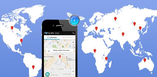Fly GPS-Location fake/Fake GPS apk