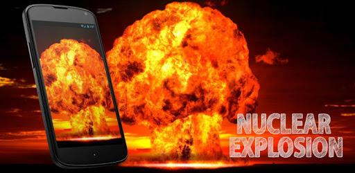 Nuclear Explosion Live Wallpap apk