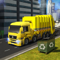 Garbage Truck 2019:  City Trash Driving Games Icon